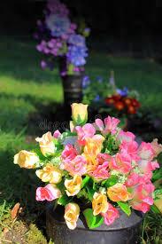 graveside flowers graveside flowers stock image image of honor memory 43387405