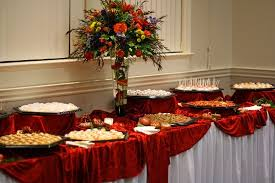 how to make a buffet table buffet table design robinsuites co
