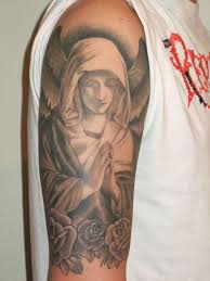 full sleeve religious christian tattoo design photo 2 2017 real