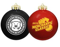 ornaments with logo decore