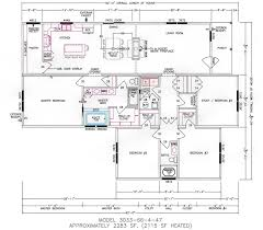 Mobile Home Floor Plans by 4 Bedroom Floor Plan F 3033 Hawks Homes Manufactured