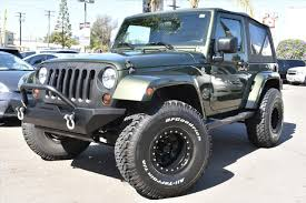 jeep lifted 2 door jeep wrangler sahara lifted in california for sale used cars on