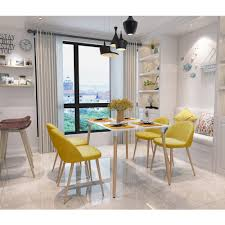 Yellow Dining Room Chairs Online Get Cheap Dining Chairs Sets Aliexpress Com Alibaba Group
