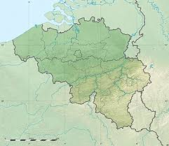 map and belgium belgium