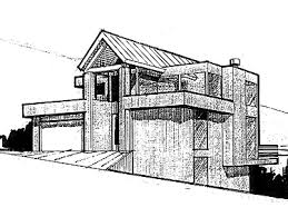 Contemporary Home With 4 Bdrms Floor Plans Aflfpw12433 2 Story Contemporary Home With 4