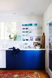Navy Blue And Gold Kitchen 807 Best Colorful Kitchens Images On Pinterest Dream Kitchens