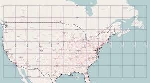 Map Of North America With States by Map United States Latitude Longitude Boaytk Longitude And Map