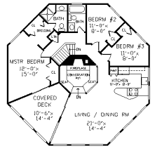 octagon home plans colonial style house plan 4 beds 3 00 baths 2078 sq ft plan 456 34