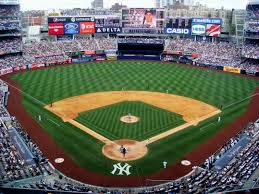 the new york yankees play in the bronx yankee stadium is a
