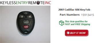 cadillac srx key fob 2007 cadillac srx key fob remote programming br