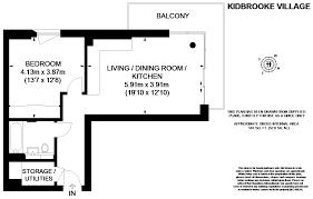 1 bed flat for sale in the square kidbrooke village blackheath