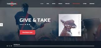 25 best music wordpress themes 2017 designorbital