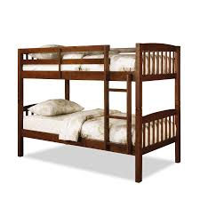 Dorel Belmont Twin Bunk Bed Walnut - Essential home bunk bed
