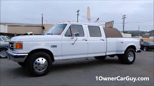 Classic Ford Truck Interiors - 1990 ford f350 1 ton dually crew cab pickup truck interior youtube