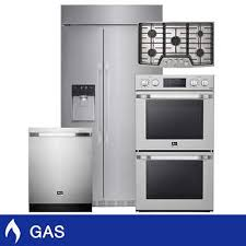 kitchen appliance package sale lg studio 4 piece gas 25 6cuft built in refrigerator appliance package