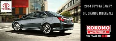 toyota camry change frequency how often should be changed on a 2014 toyota camry kokomo
