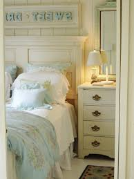 wooden maple material and dark blue sheet color cool bedroom