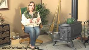 vogelzang deluxe boxwood wood burning stove youtube
