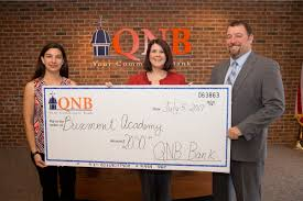 qnb bank donates to buxmont academy iirp graduate