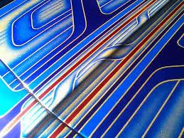shimmrin base silver flakes kandy colbalt blue oriental blue