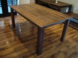 Dark Wood Kitchen Table Simple Kitchen Table Captainwalt Com