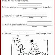reading comprehension worksheets 1st grade free kristal