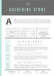 Templates Of Resumes And Cover Letters Resume Template Cv Template Cover Letter For By U2026 Portfolio