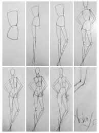 How To Draw Fashion Designs Beginners How To Draw A Fashion Croquis How To Draw Better