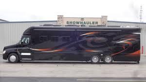 kenworth factory tour showhauler unit 1525 2016 fl cascadia motorhome showhauler