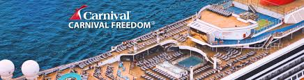 carnival freedom ship 2017 and 2018 carnival freedom