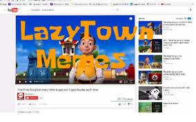 Lazy Town Memes - lazytown memes nigeltheshark wikia fandom powered by wikia