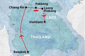 Mekong River Map Journey Down The Laos Mekong Laos Tours Peregrine Adventures Us