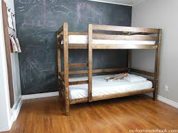 Building A Bunk Bed Our Home Notebook - Room and board bunk bed