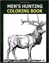 men u0027s hunting coloring book coloring book men hunting
