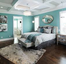 Light Turquoise Paint For Bedroom Turquoise Modern Master Bedroom Design With En Suite