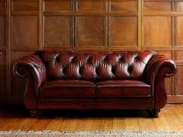 chesterfield canapé canapé chesterfield en cuir 2 places marron heathcote