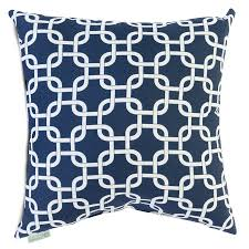 decorative pillows home goods shop majestic home goods 20 in w x 20 in l navy blue indoor
