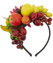 grevi multi color fruit and flower headband hollie mollie