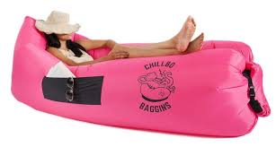 my review of the chillbo baggins inflatable lounge bag hammock air