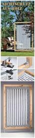 Sichtschutz Fur Dusche Best 25 Sichtschutz Holz Ideas On Pinterest Sichtschutz