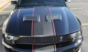 Blue Mustang Black Stripes Mustang Car Skins Gallery
