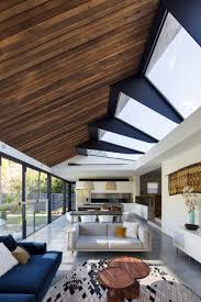 skylight design concertina rooflight illuminates sydney house by nick bell design