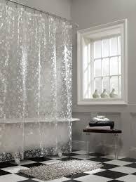 Clear Vinyl Shower Curtains Designs Maytex Circles Peva Shower Curtain Clear Peva