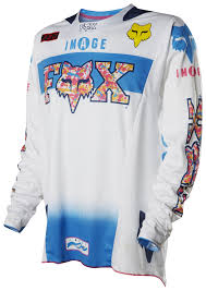 fox motocross jersey fox racing 360 image sx15 atlanta le jersey revzilla