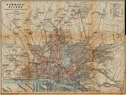 Germany Rail Map by