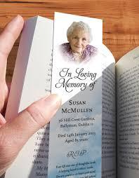 memorial bookmarks memorial bookmarks print ready