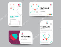 business card template for doctors physician medical doctor