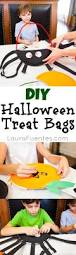 halloween treat bag craft diy halloween treat bags laura fuentes