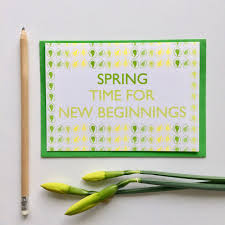 new beginnings greeting cards new beginnings greetings card seasonal soul home