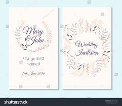 wedding invitation thank you card save stock vector 469357457